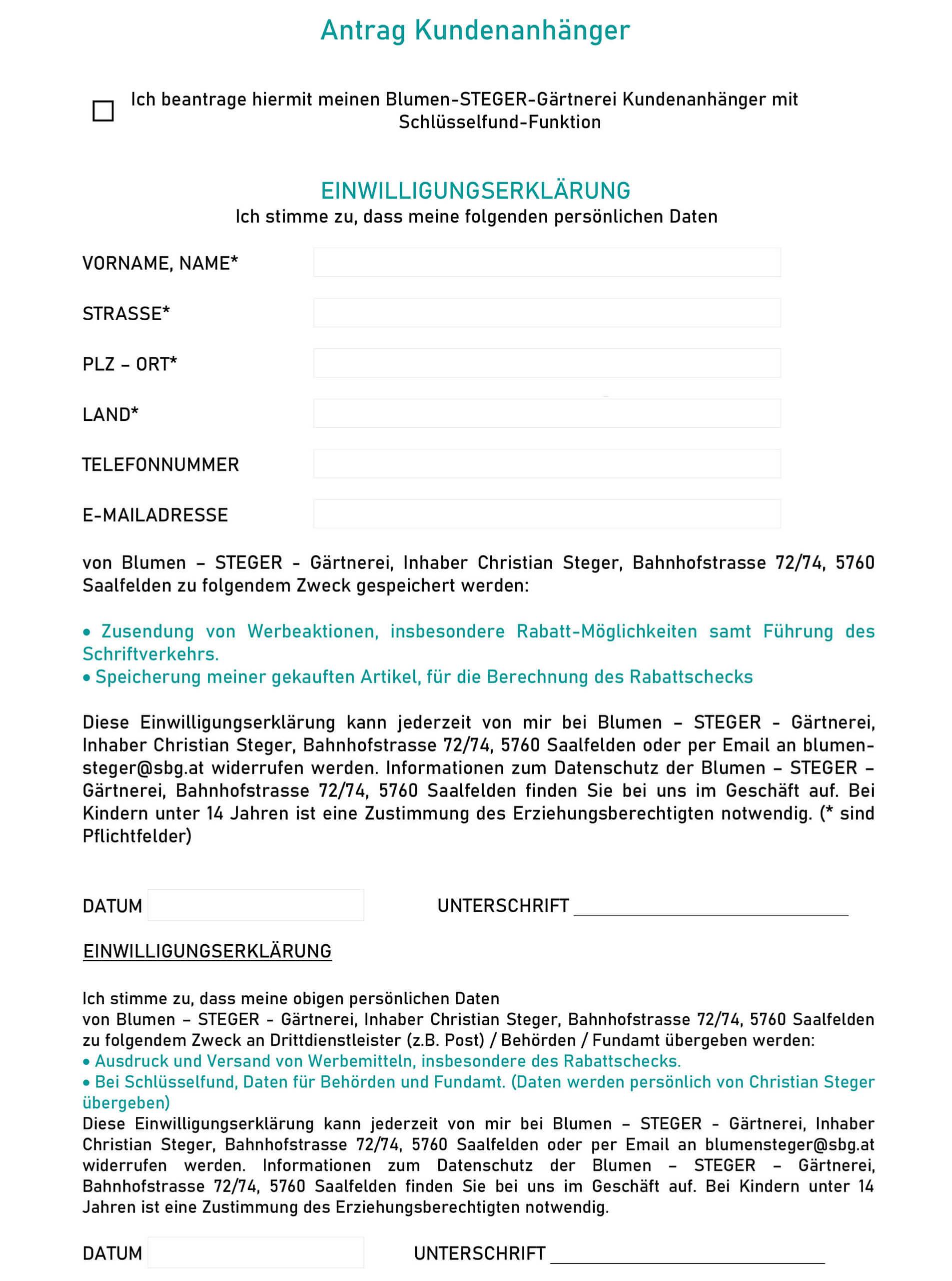 Formular_Kundenanhaenger-Blumen-Steger-Saalfelden-Bruck